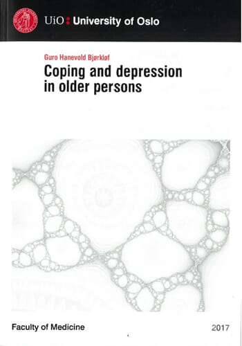 Coping and depression in older persons