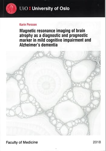 Magnetic resonance imaging of brain atrophy....